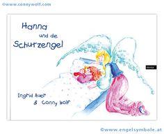 """""""Hanna und ihre Schutzengel"""" ist das zweite """"himmlische"""" Kinderbuch von Ingrid Auer, das ich ebenfalls bebildern durfte. ;-)"""