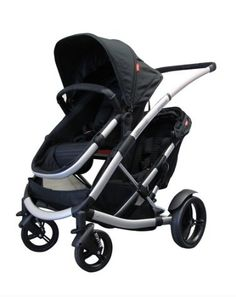 Phil and Teds 2014 Promenade Stroller WITH Doubles Kit in Black