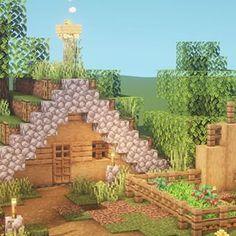 Minecraft Starter House, Minecraft House Plans, Minecraft Farm, Easy Minecraft Houses, Minecraft House Designs, Minecraft Construction, Amazing Minecraft, Minecraft Blueprints, Minecraft Crafts