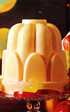 A Glistening Jell-O Tower Of Cheese!  Horrible, Yet Magnificent!  (The Complete Cookbook from Kraft, 1971)