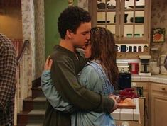 """Boy Meets World Where I first learned about love! Boy Meets World Season 4 Episode 17 A Long Walk to Pittsburgh """"Mom, Listen, I haven't been together with Topanga for twenty-two years, but we have been together for sixteen. 'Kay, that's a lot longer th. Girl Meets World, Cory E Topanga, Incorrigible Cory, I Smile, Make Me Smile, Favorite Tv Shows, Favorite Quotes, Favorite Things, Favorite Color"""