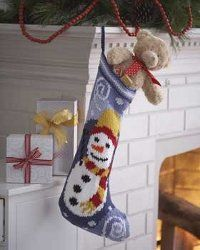 Download free eBook for Christmas stocking patterns. Never too early to start working on Christmas projects!