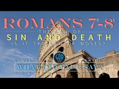 The Law of Sin and Death. What is it? NOT The Law of Moses! WHAT DID PAUL SAY? - YouTube Tagalog, Torah, Law, Death, Let It Be, Sayings, Youtube, Lyrics, Word Of Wisdom