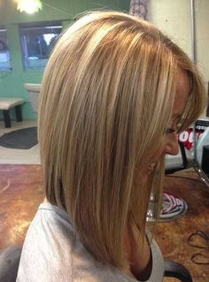 Straight-Hair-Inverted-Bob » New Medium Hairstyles