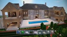 MINECRAFT XBOX 360 ENGLISH MANOR MANSION (Elegant!)
