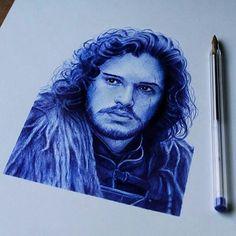 WANT A SHOUTOUT ?   CLICK LINK IN MY PROFILE !!!    Tag  #DRKYSELA   Repost from @franwingmartinez   #art #arte #gameofthrones #juegodetronos #jonsnow  #stark #drawing #dibujo #ilustracion #illustration #artwork #boligrafo #bic #ink #pen #ballpoint #hyperrealism #hiperrealismo #pencil #blue #portrait #retrato #arts_help #dibujos #sketch #artshelp via http://instagram.com/zbynekkysela