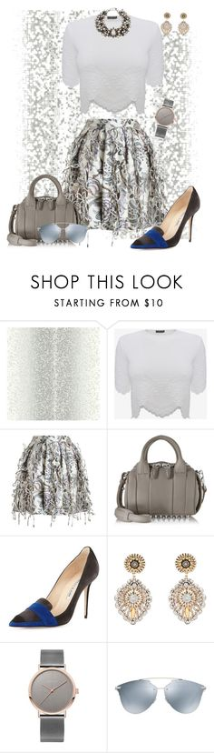 """""""Shady 😎"""" by scope-stilettos ❤ liked on Polyvore featuring Alexander McQueen, Zimmermann, Alexander Wang, Manolo Blahnik, Miguel Ases, Christian Dior and Lydell NYC"""
