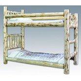 Found it at Wayfair - Montana Twin over Twin Bunk Bed with Built-In Ladder