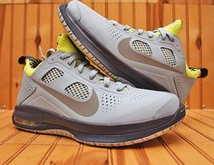 huge discount b4a27 32a12 Nike Air Max Dominate XD Mens Blue Grey Leather SNEAKERS   eBay
