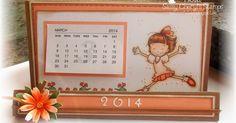 Kalenderhalter  Anleitung