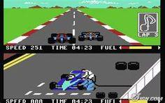 Pitstop - Commodore 64  Ho cambiato più pneumatici io che il team della Ferrari...
