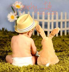 Easter Spring Baby Photos Batavia, IL | Peachy Life Photography