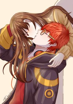 """cloverlynx: """" """"If God allows it.. I'll always have you in my heart."""" 707's route, day 9. I'm sure Mc and Seven had their first kiss in apartment ( ͡° ͜ʖ ͡°) """""""