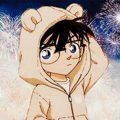 Detective Conan Shinichi, Manga Detective Conan, Detective Conan Wallpapers, Detektif Conan, Kudo Shinichi, Cute Animal Photos, Matching Profile Pictures, Magic Kaito, Cute Chibi