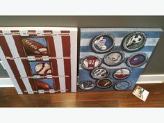 2 cute pictures for boys bedroom Canvas Pictures, Cute Pictures, Used Victoria, Large Canvas, Bedroom, Holiday Decor, Boys, Furniture, Home Decor