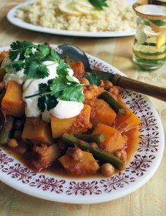 Moroccan pumpkin curry {vegan, gluten free, dairy free - delicious!}