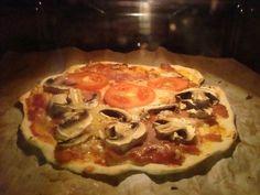 En härlig krispig pizzadeg. Smak av Italien!