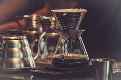 The pourover, a beautiful smooth coffee. Double tap if you like.