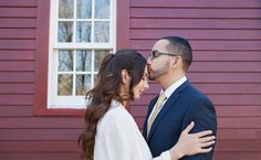 Sarah and Dan's Gorgeous, Rustic Wedding at a CT Farmhouse