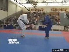 Jeff Glover - Climbing Armbar. Martial arts gifs