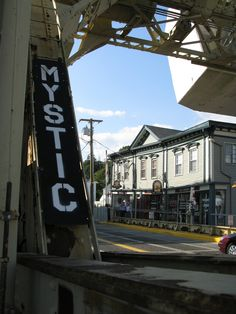 Mystic, CT (yes, I ate at Mystic Pizza)!