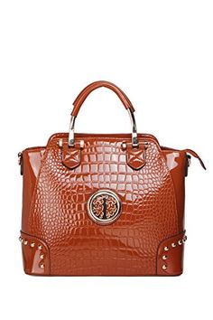 MKF Handbags ~ Designer Handbag ~ Tote Handbag ~ Women Shoulder Handbag ~  Women handbag ~ Women Tote ~ MKF Collection BLOOM Designer Handbag (Black) f0c07b1176d