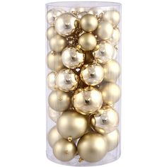 Ball Christmas Ornament Set Reviews (2845 RSD) ❤ liked on Polyvore featuring home, home decor, holiday decorations, christmas, filler, christmas tree ornaments, christmas holiday decor, christmas holiday decorations, xmas ornaments and christmas ball ornaments