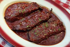 Nancy Norcisa, Milwaukee, requested the recipe for a braised shortrib from Buca di Beppo, 1233 N. Van Buren Ave.