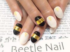 Nail Art - Beetle Nail : 八幡|メタリックネイル