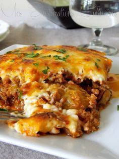 recette Moussaka Plus recipes chicken recipes crockpot recipes easy recipes for dinner recipes healthy food recipes Healthy Dinner Recipes, Cooking Recipes, Healthy Eating Tips, Healthy Lunches, Greek Recipes, Food Inspiration, Good Food, Food Porn, Food And Drink