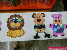 cd animals craft  |   Crafts and Worksheets for Preschool,Toddler and Kindergarten