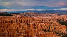 There is no place like Bryce Canyon. Hoodoos (odd-shaped pillars of rock left standing from the forces of erosion) can be found on every continent, but here is the largest collection of hoodoos in the world! Descriptions fail. Cave without a roof? Forest of stone? Photographs do not do it justice. An imagination of wonder will serve you when visiting Bryce Canyon National Park.