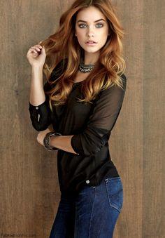 Barbara Palvin in Mavi Jeans campaign