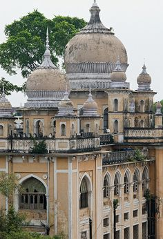 Old Palace - Hyderabad, India India Architecture, Ancient Architecture, Backpacking India, Grand Budapest Hotel, Largest Countries, South India, India Travel, Incredible India, Hyderabad