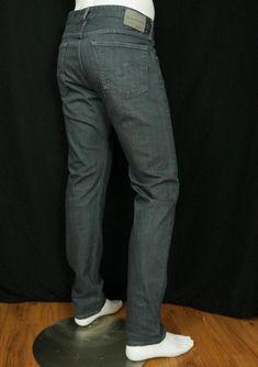 ba29b58b Men AG Adriano Goldschmied The Dylan Slim Straight Jeans Washed Stone sz 36  X 34