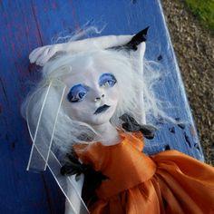 Polymer Clay Art Doll Poppy