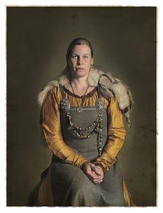Beautiful Ann-Marie at Ribe. Vikings By Jim Lyngvild