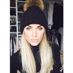 Fashion Blogger Friday! Kristy is super stylish in her black AJ hat! Love AJ Xx