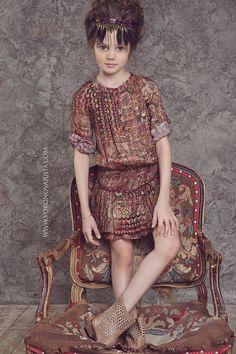 Fashion Kids. Модели. Даша Костина