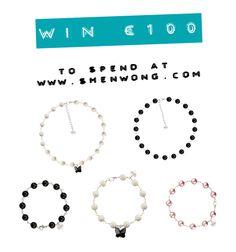 Win a €100 gift voucher for jewellery at www.ShenWong.com Shen Wong is a new jewellery designer from Dublin. Her work has been featured on Her.ie and The Weekend supplement in the Irish Times.