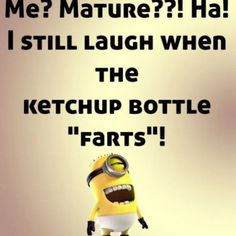 Minion quotes are hilarious. These are the 21 best funny minions quotes of the day that will make you laugh. Funny Minion Pictures, Funny Minion Memes, Minions Quotes, Funny Jokes, Minion Sayings, Minion Humor, Funny Sayings, Funny Quotes For Kids, Funny Kids