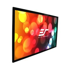 Elite Screens SableFrame Fixed Projection Screen Diag. The Elite Sable Fixed Frame Projection Screen is a simple, affordable and efficient screen for home or educational use. The and models come in the versatile aspect ratio, which. Projection Screen Tv, Ecran Projection, Home Cinema Projector, Home Theater Projectors, 3d Projector, Sliding Wall, Screen Material, Best Home Theater, Rome