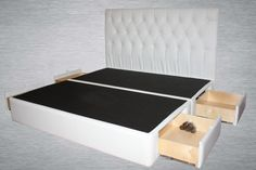 Pearl 4 Drawer Luxury Leather Storage Bed by LovelyFurnishings