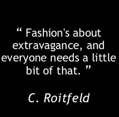 Fashion philosophy
