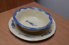 miska s talířkem