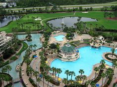 The Orland Marriott near DisneyWorld