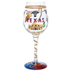 Texas wine glass :)