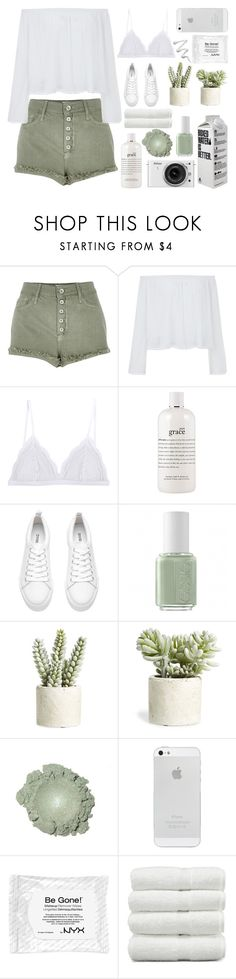 """""""&&; WE KEEP THiS LOVE iN A PHOTOGRAPH"""" by a-perfect-messs ❤ liked on Polyvore featuring River Island, Cosabella, Nikon, philosophy, H&M, Essie, Allstate Floral, NYX, Linum Home Textiles and simplesabrina"""