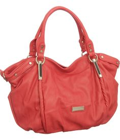 ❤Gorg color!!! ❤ Purse Boutique: Coral Oversized Limited Edition Vitalio ''Alicia'' Hobo, Purses