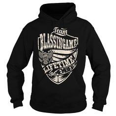 Last Name, Surname Tshirts - Team BLASSINGAME Lifetime Member Eagle